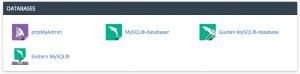 cPanel-MySQL