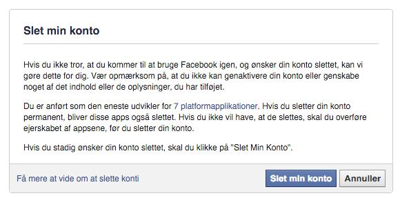facebook slet groot