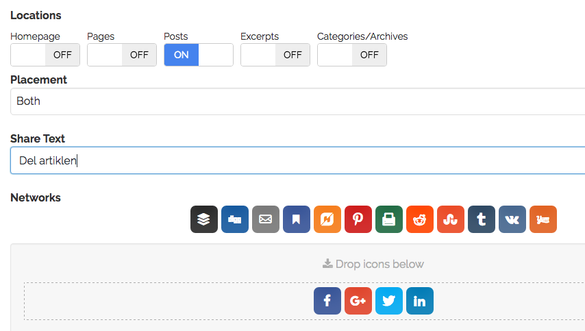 Share-buttons
