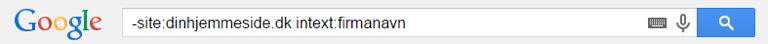 Tjek i Google om din hjemmeside er omtalt uden et link