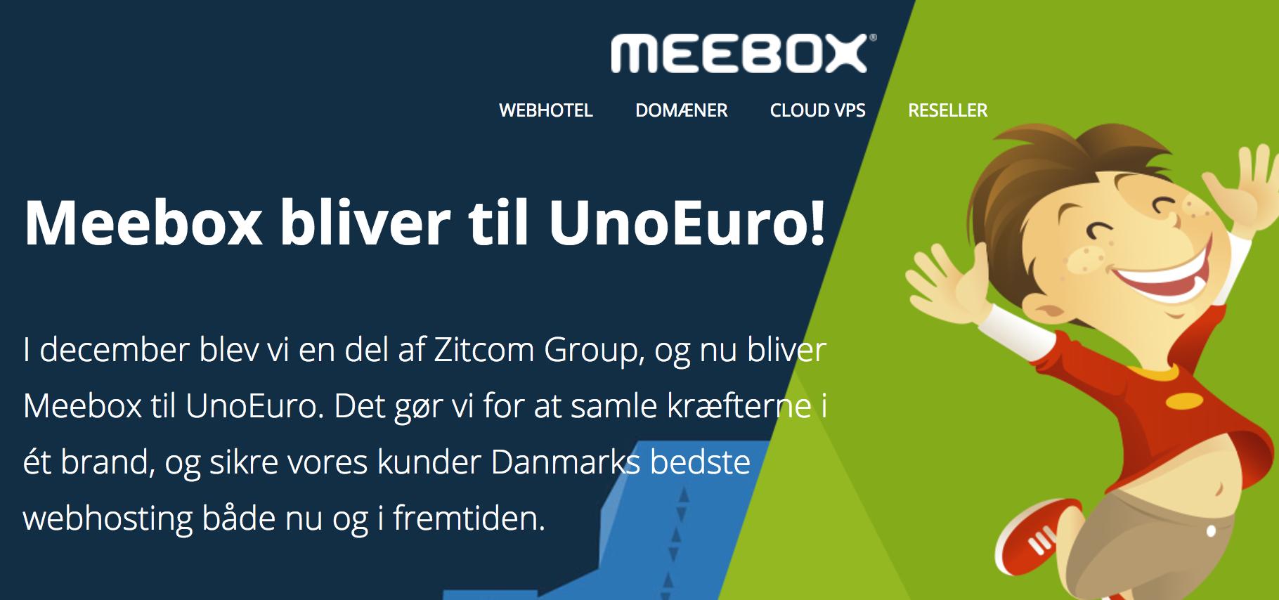 Unoeuro overtager Meebox – hvad sker der med din firmahjemmeside?